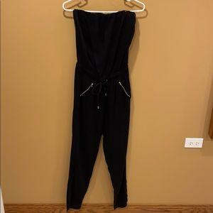 Bar III strapless jump suit